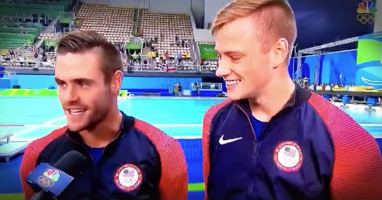 Olympic Divers Just Won Silver And They Are Giving ALL The Glory To God