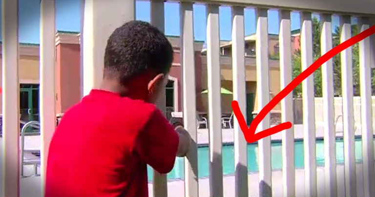 Quick-Thinking 7-Year-Old Jumps In Pool To Save Toddler From Drowning