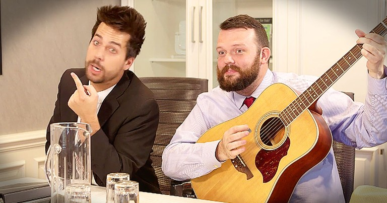 Christian Comedian John Crist Hilariously Imagines How Worship Music Gets Made