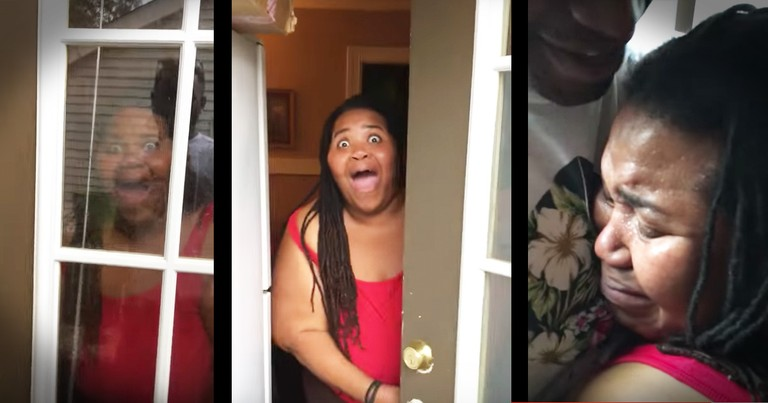 This Soldier Showed Up At His Momma's Door And This Surprise Is The Sweetest