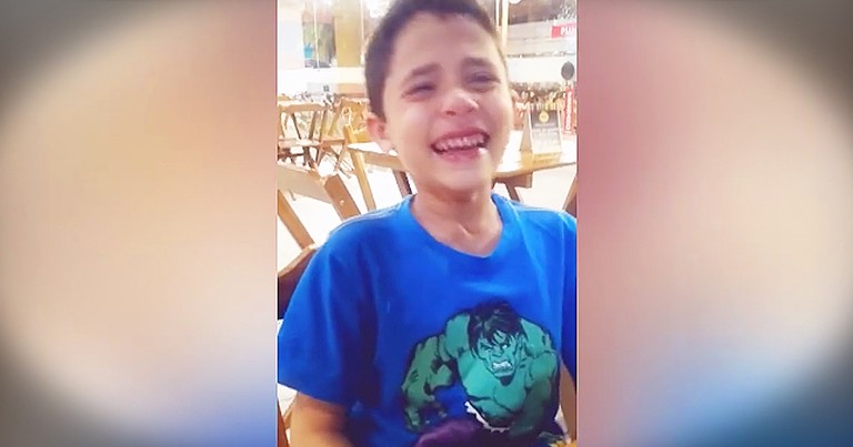 Little Boy Becomes Emotional After Finding Out Mom Is Having Twins