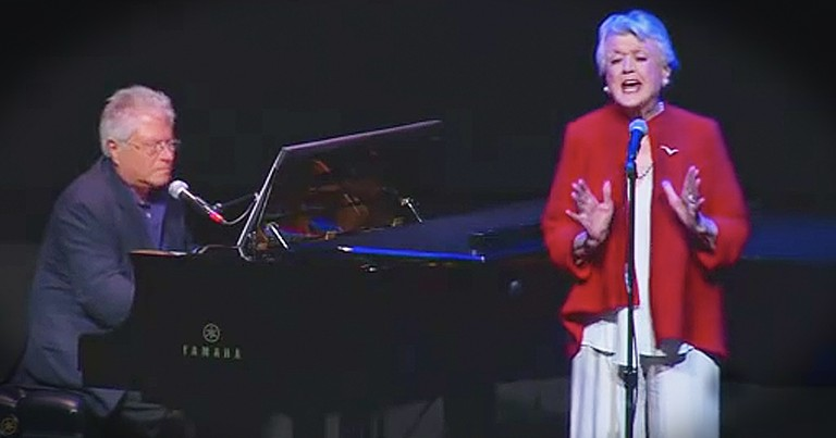 90-Year-Old Angela Lansbury Sings 'Beauty And The Beast' For 25th Anniversary