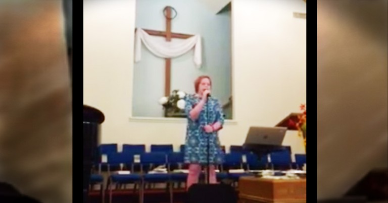 Teen Singing 'Oceans' For Her Church Will Wow You