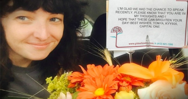 Capital One Rep Sends Flowers To Caller Who Was Just Dumped