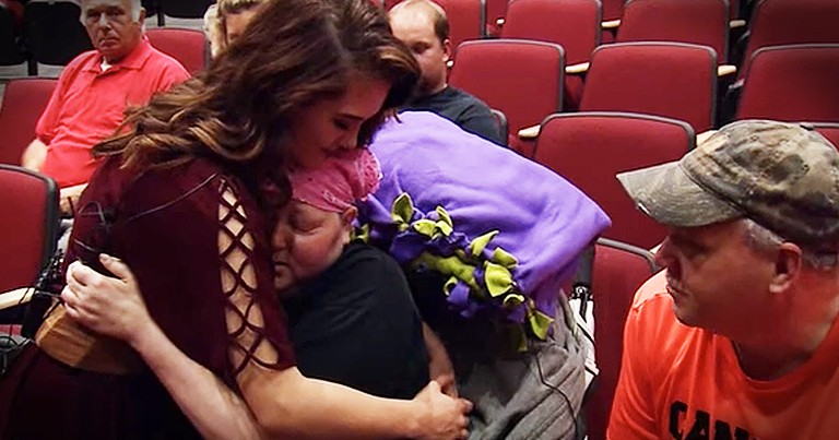 Dying Mother Hears Daughter Sing For The Last Time