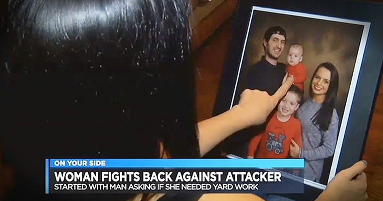 Mother Fights Back Against Intruder Inside Of Her Home