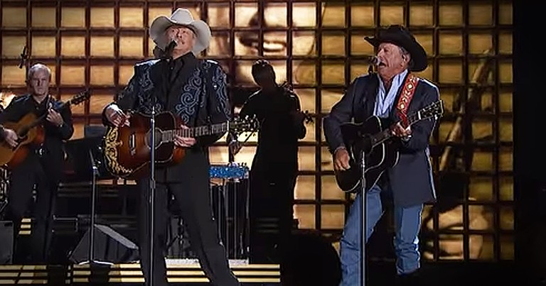 Alan Jackson And George Strait Perform Mash-Up In Honor Of Country Artists We've Lost
