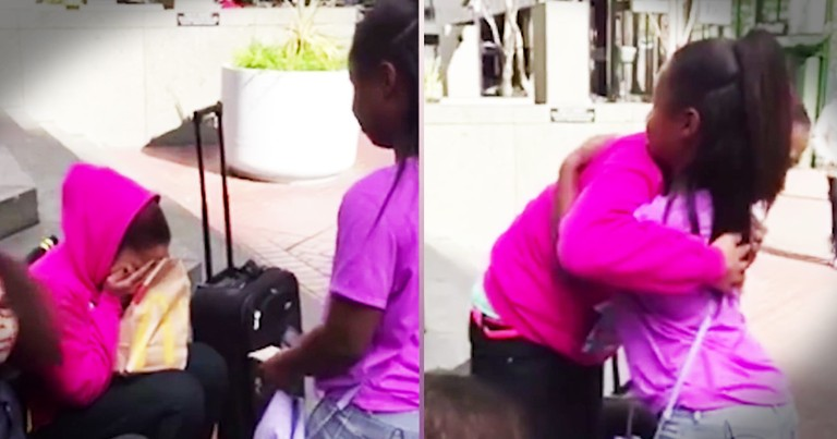 Little Girl's Act Of Kindness Brought A Homeless Mom To Tears