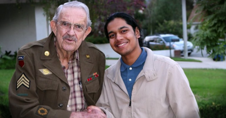 Teen Has Dedicated His Life To Thanking WWII Veterans