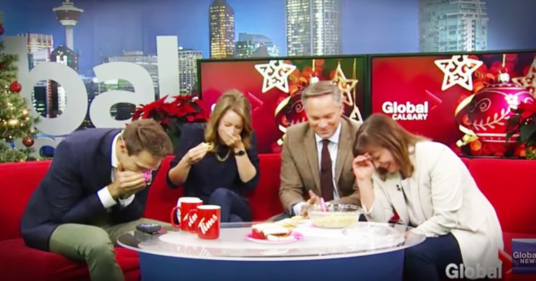 Anchor Shares Her Hilarious Holiday Baking Fail On-Air