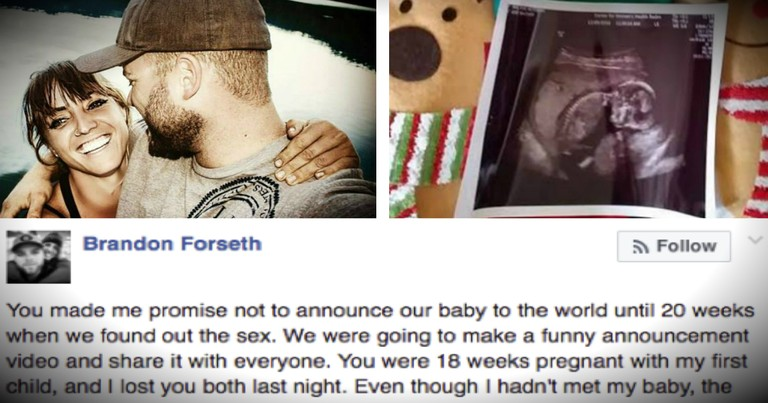 Man's Emotional Post Revealing Pregnant Girlfriend Died In Car Crash