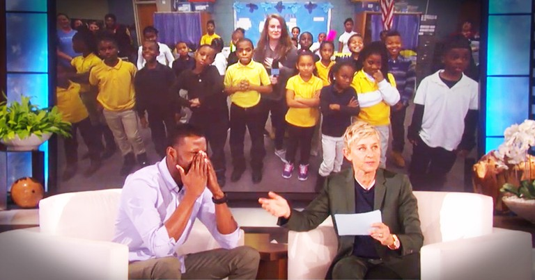 Amazing Teacher Prays Before School Everyday And Inspires With Music