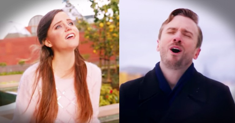 A Cappella 'Somewhere Out There' Is Truly Touching