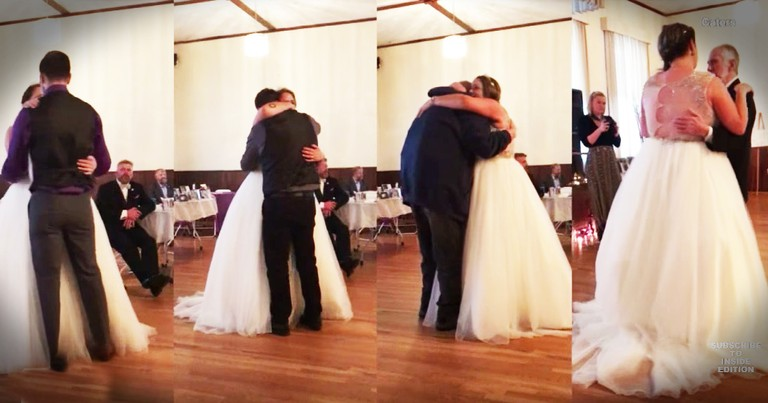 Bride Who Lost Her Dad Before Her Wedding Has Tear-Jerking Father-Daughter Dance