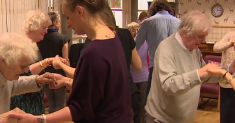 Dementia Patients Are Getting Their Groove On With Some Dance Therapy