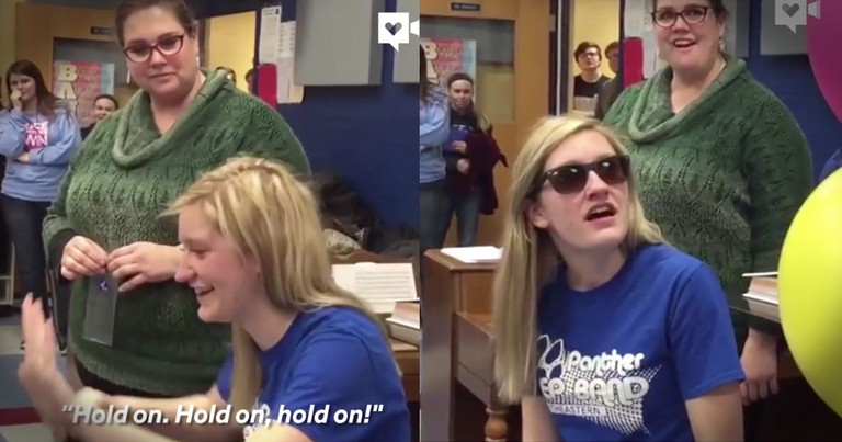 Teens Surprise Friend And Help Her See Color For The First Time In 5 Years