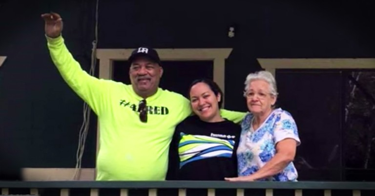 Grandparents Living Without Electricity Get A Huge Surprise