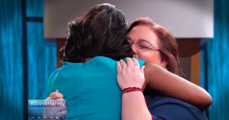 Formerly Homeless Woman Gets To Thank The Woman Who Kept Her From Giving Up