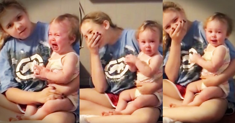 Precious Baby Girl Hilariously Stops Crying For Marvin Gaye