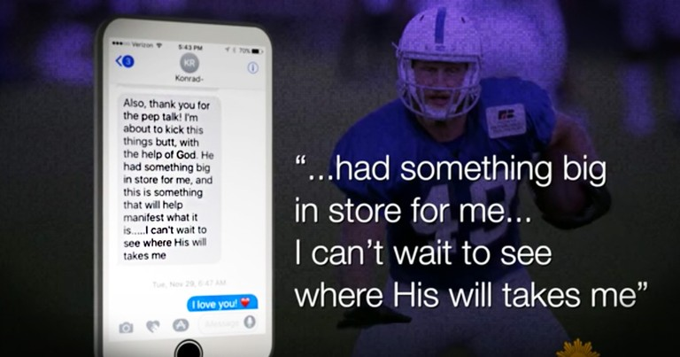 Son Texts His Mom 'God Has A Plan' Right Before He Died And God Did Something Incredible
