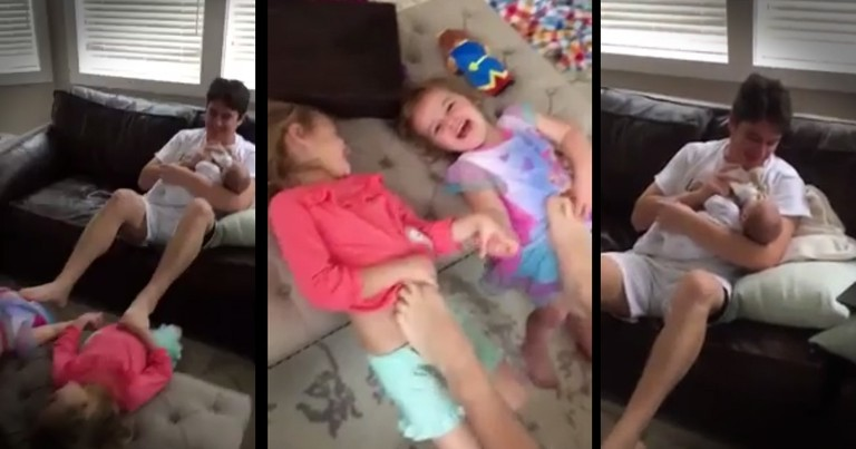 This Guy Is Proof That Dads Can Do It All