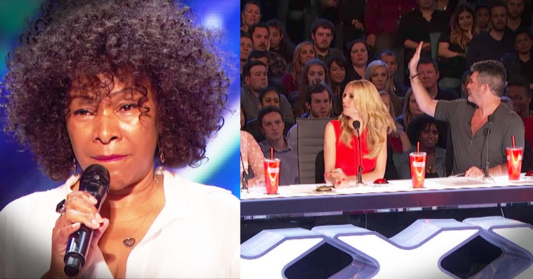 Simon Stopped This 62-Year-Old's Audition But She Makes A Come Back