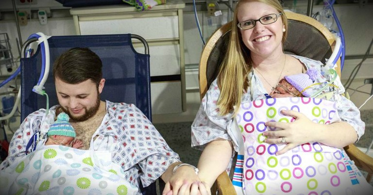 After Struggling To Conceive, Couple Welcomes Miracle Quintuplets