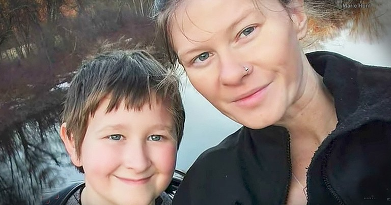 Young Boy Saves Mom's Life 1 Week After His Dad Passes Away