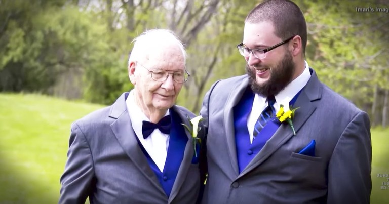 90-Year-Old Grandpa Makes The Greatest Best Man