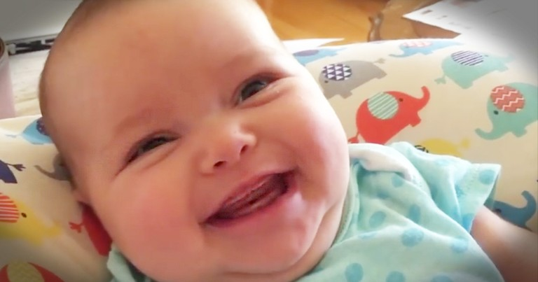Baby Shows Sheer Joy While Her Momma Sings Hymn, 'Sweet, Sweet Spirit'