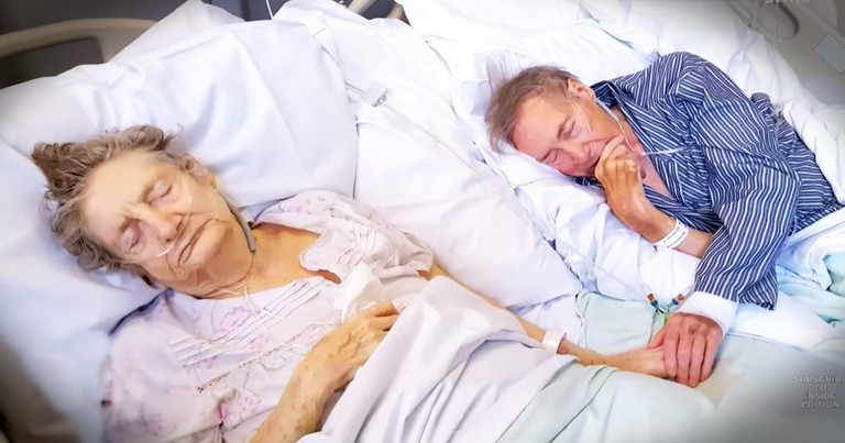 Sweet Couple Married 67 Years Refuse To Be Apart Even In Sickness