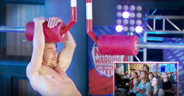 Derek Hough Takes On American Ninja Warrior For Charity