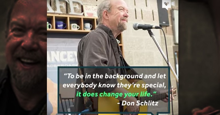 Country Music Artist Don Schiltz Plays At Homeless Shelters