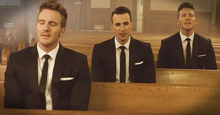 Gentlemen Trio Sing Soul-Filled Cover Of 'Let It Be' Inside Church