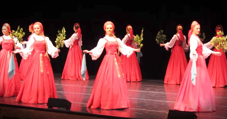 Russian Dancers Move So Gracefully Together It Looks Like They're Floating