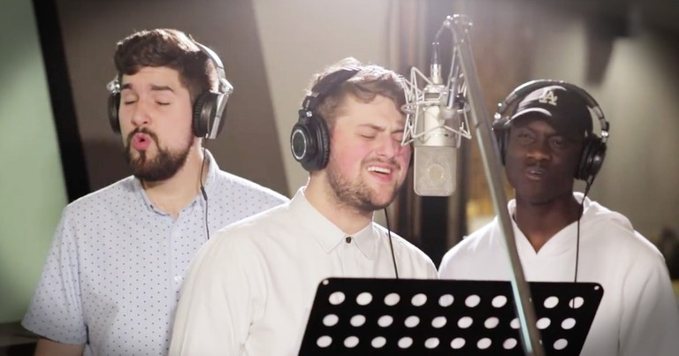 Gospel Group Sings Beautiful A Cappella Song, 'No Longer Slaves'