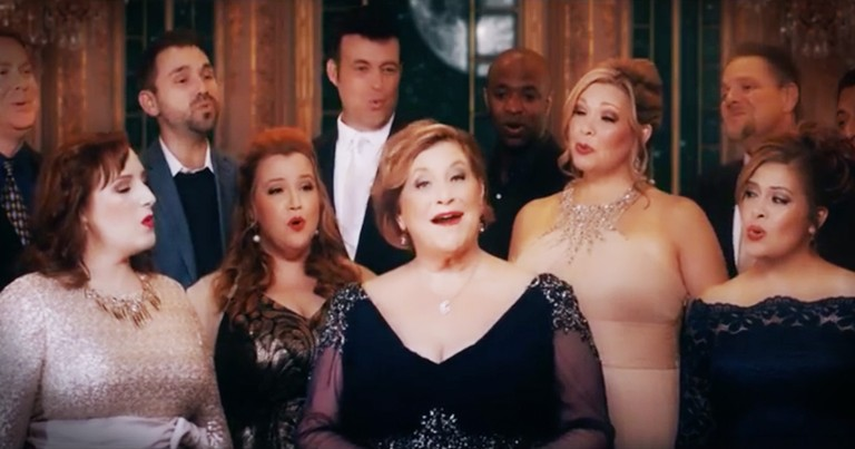 Sandi Patti Teams Up With A Cappella Choir For A Chill-Inducing 'Beauty and the Beast'