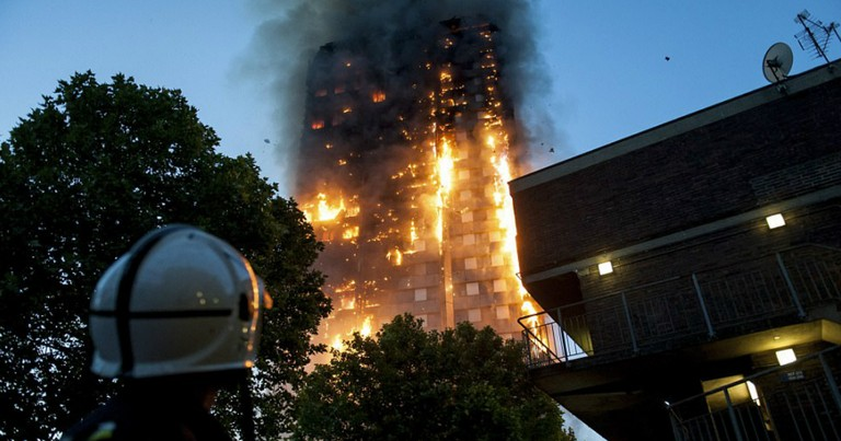 Baby Thrown From 10th Floor During London Fire Miraculously Caught