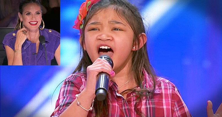 9-Year-Old Angelica Hale's Powerful 'Rise Up' Audition