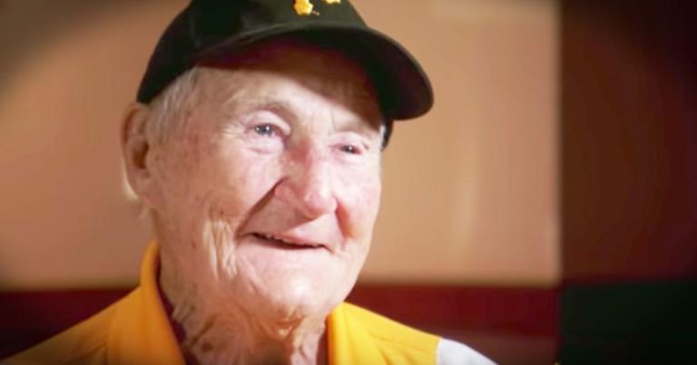 99-Year-Old Usher Still Runs Circles Around Folks