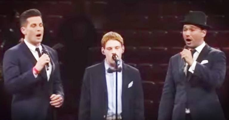 Christopher Duffley And Tenors Sing 'Time To Say Goodbye'