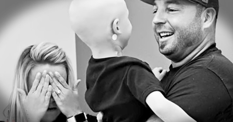 Photos Show 3-Year-Old's Battle With Cancer