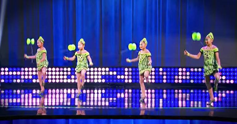 Yo-Yo Dance Team Wows On Little Big Shots