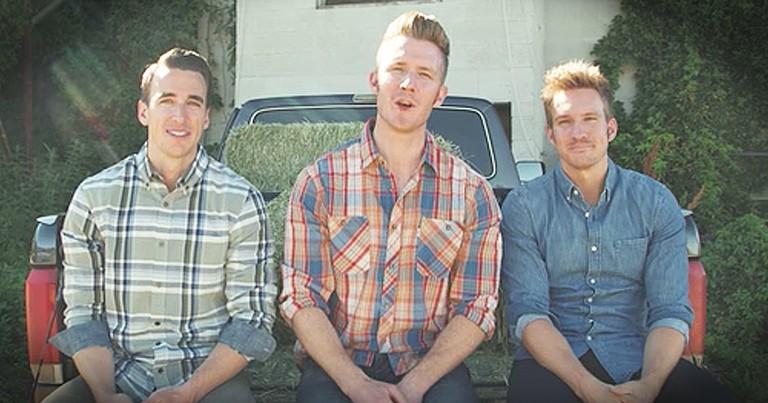 Gentlemen Trio Sings 'God Bless The USA'
