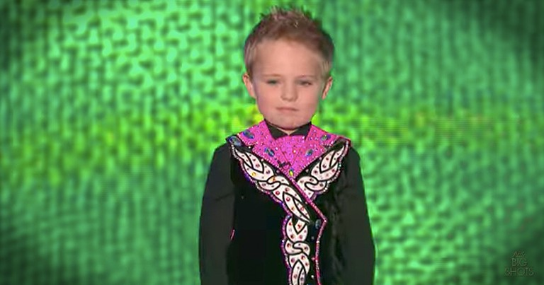 5-Year-Old Irish Dancing Sensation Oscar Donnelly