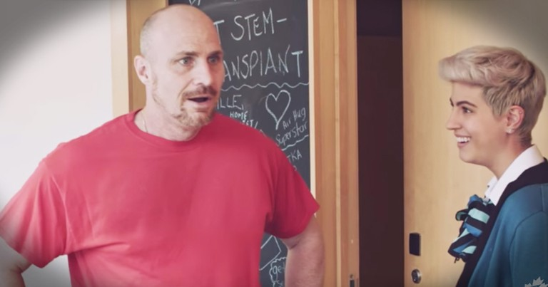 Deserving Dad Gets A Huge Father's Day 'Thank You'