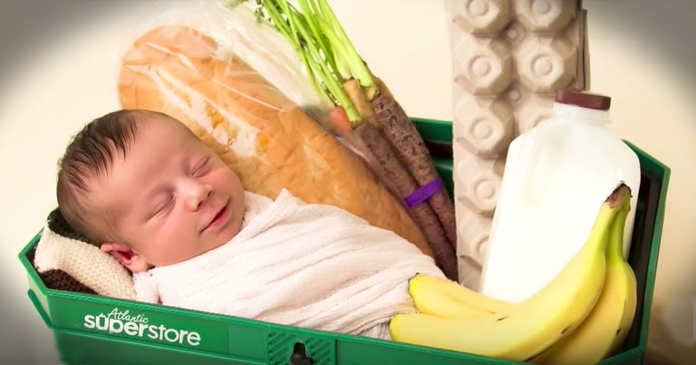 Woman Has A Baby In The Grocery Store