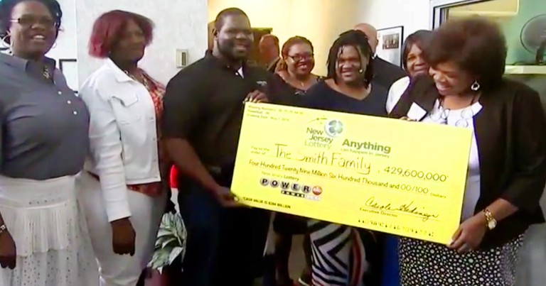 Lottery Winners Use Money To Give Back