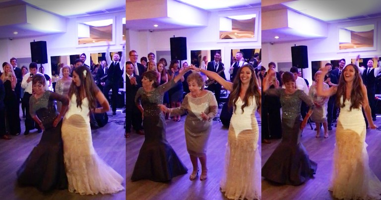 Single-Mom And Her Daughters Unexpected Wedding Dance