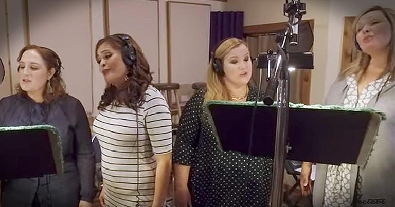 A Cappella Group Sings Cinderella Medley